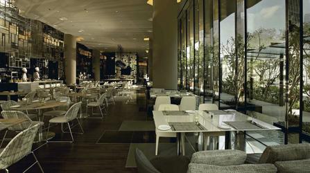 Lime Restaurant des Parkroyal Pickering Hotel, Singapur