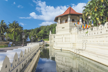 Zahntempel Sri Dalada Maligawa in Kandy