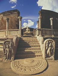Archäologischer Park von Polonnaruwa