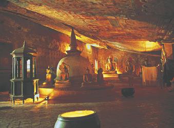 Dambulla Höhle