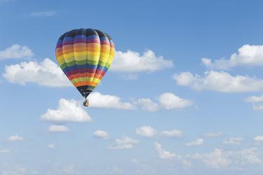 Ballonfahrt über Sri Lanka
