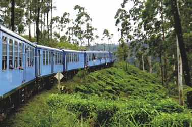 Zugfahrt von Ella nach Nanu Oya