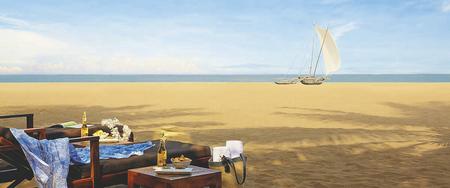 Strandbereich Jetwing Blue