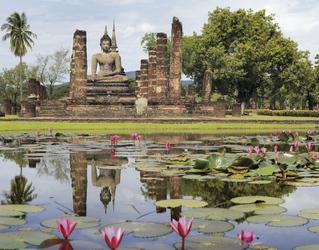 Sukhothai der historische Park