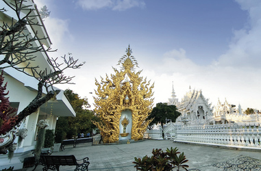 Rong Khun Temple in Chiang Rai - © Tourism Authority of Thailand