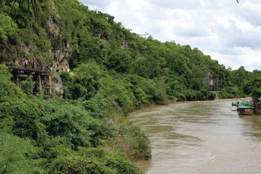 Blick auf den River Kwai