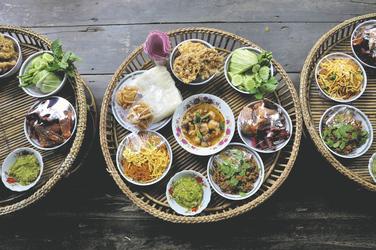 Kantoke Essen in Chiang Mai