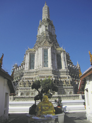 Tempel der Morgenröte (Wat Arun), ©Ines Höflich