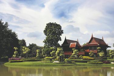 Haus im thailändischen Stil, ©Asian Trails