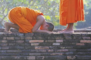 Zwei junge buddhistische Mönche , ©Asian Trails