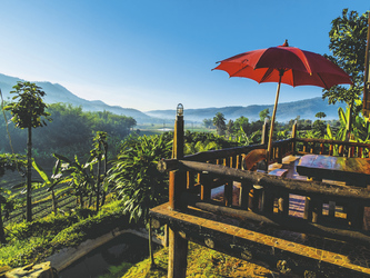 Ausblick über die herrliche Landschaft Thailands, ©Asian Trails