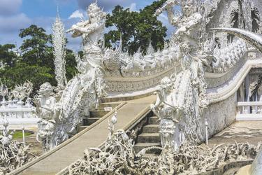 Wat Rong Khun in Chiang Rai , ©Asian Trails