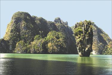 James Bond Island, Phang Nga Bucht, Thailand, ©Dream Yacht Charter