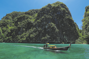 Ausflugsboot bei Krabi