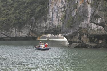 Ausflug mit Sampanboot