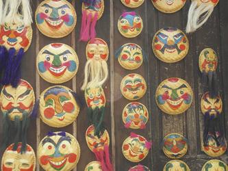 Masken in Vietnam