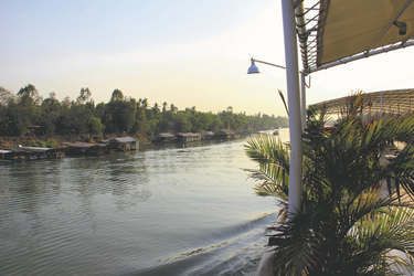 Ausblick von der RV Pandaw , ©Pandaw River Cruises