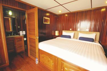 Kabine der Pandaw, ©Pandaw River Cruises