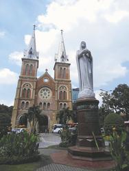 Notre Dame in Saigon, ©Ines Höflich