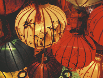 Lampions in Hoi An, ©Sarah Mertin