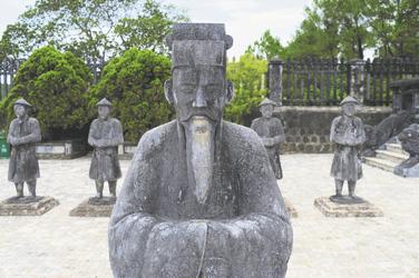 Grabmahl Kai Dinh in Hue