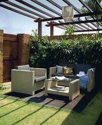 Outdoor Wohnbereich