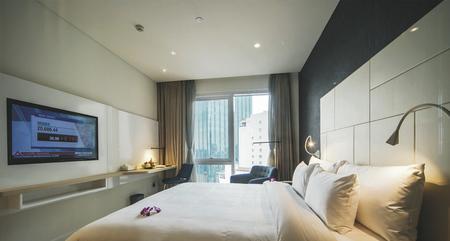 Deluxe Zimmer mit Stadtblick