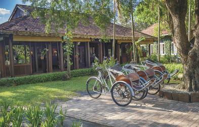Fahrradverleih an der Rezeption