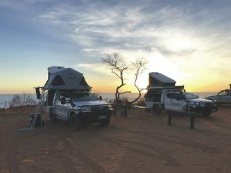 Campground mit Ausblick