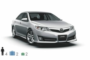 Gruppe D FCAR, Toyota Camry o.ä.