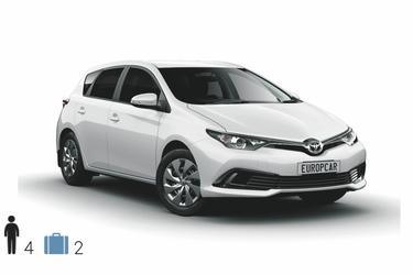 Kat. IDAR, Toyota Corolla o.ä.