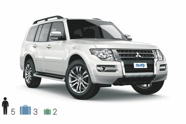 Gruppe FFAR (4WD Wagon): Mitsubishi Pajero o.ä.