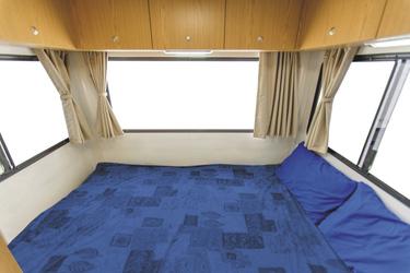 Doppelbett im Heck (Beispiel)