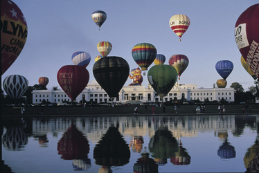 Ballonfestival in Canberra