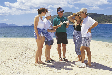 Strandspaziergang mit einem Guide