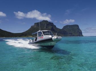 Unterwegs mit Pro Dive Lord Howe Island