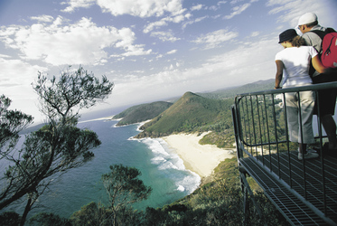 Tomaree Head Aussichtspunkt, Port Stephens