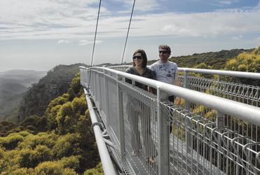 Beim Illawarra Fly Treetop Walk
