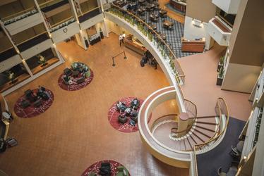 Blick in die Atrium Lobby