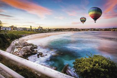 Ballooning über Sydney