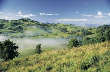 Blick in das Bega Tal
