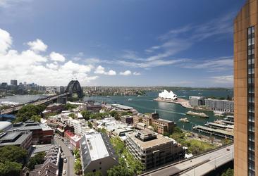 Blick von den Quay West Suites, ©Hamilton Lund
