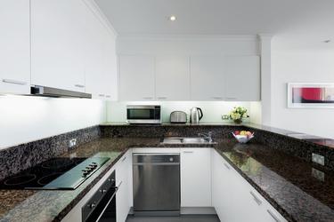 Komplett ausgestattete Küche, ©Hamilton Lund
