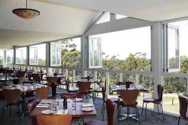 Restaurant mit Aussicht