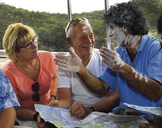 Aboriginal Geschichte im Ku-ring-gai Chase Nationalpark