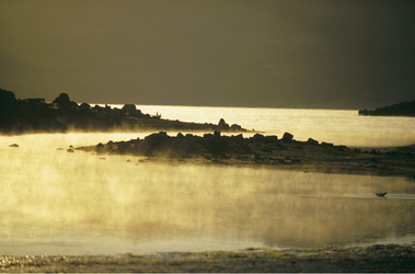 Sonnenuntergang am Lake Jindabyne