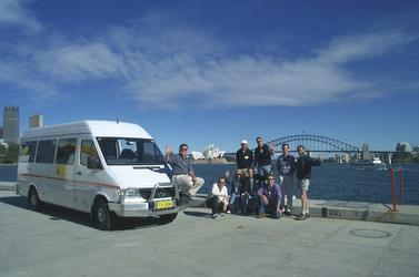 Kleingruppe in Sydney