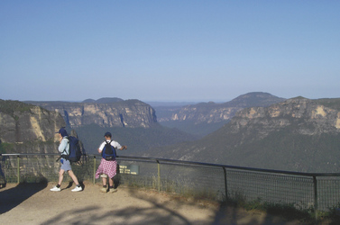 Blick in die Blue Mountains