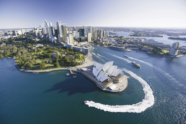 Blick auf Sydney ©Hamilton Lund, ©Joint copyright