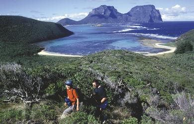 Wandern auf Lord Howe Island